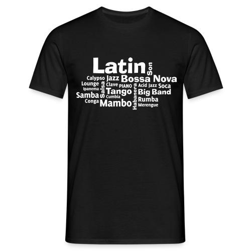 Latin Music T Shirt  - Männer T-Shirt
