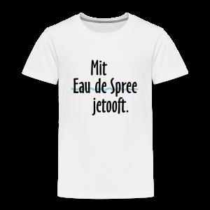 Mit Eau de Spree jetooft  T-Shirt (Kinder) - Kinder Premium T-Shirt