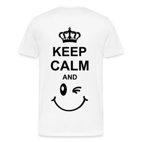 Tshirt Keep Calm - Männer Premium T-Shirt