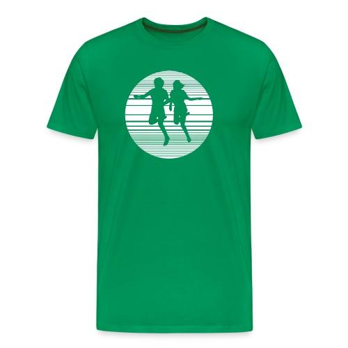 Rival Schools - United By Fate (green) - Men's Premium T-Shirt
