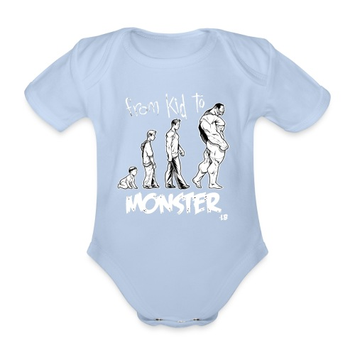 Body Baby From Kid to Monster - Body bébé bio manches courtes