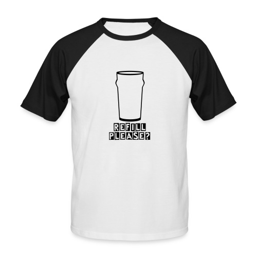 Refill - Men's Baseball T-Shirt