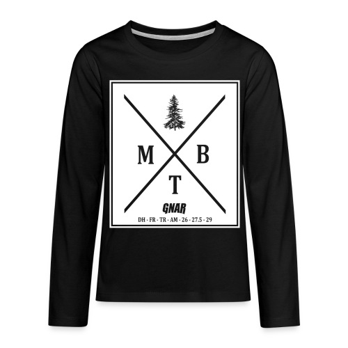 Teen Block MTB Logo - Teenagers' Premium Longsleeve Shirt