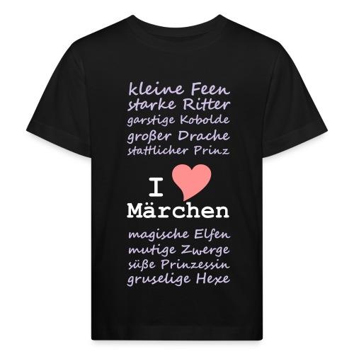 Kinder-Shirt Märchen-Liebe - Kinder Bio-T-Shirt