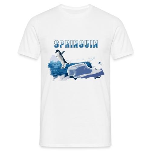 Pinguin - Männer T-Shirt