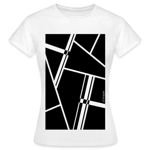 Blocks Black - Woman T-shirt - Maglietta da donna