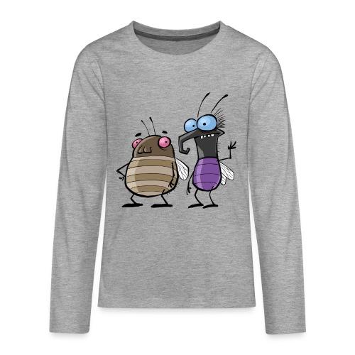 Teenager Premium Langarmshirt Insekten - Teenager Premium Langarmshirt