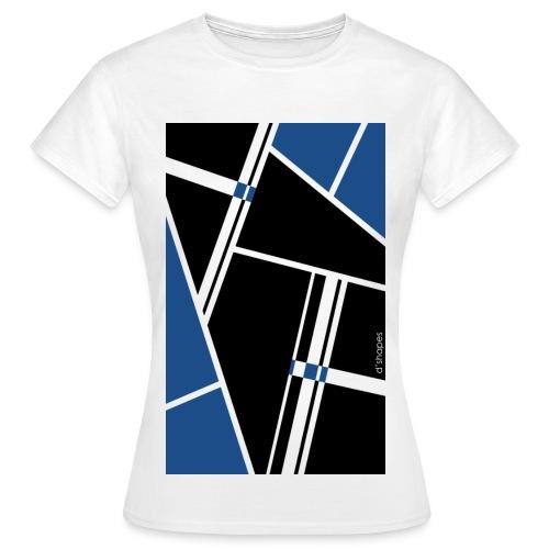 Blocks Blue - Woman T-shirt - Maglietta da donna