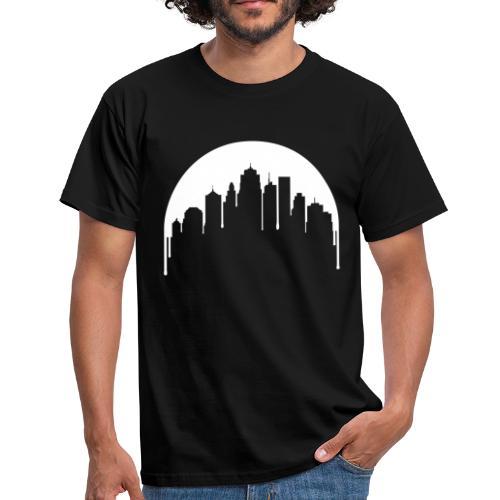 Stadt Mond - Männer T-Shirt