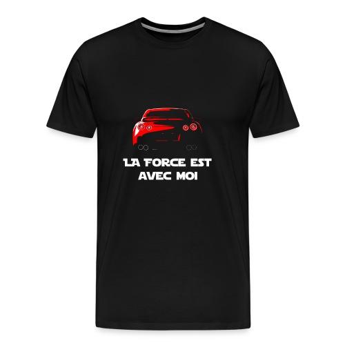T-shirt GTR, la force est avec moi - T-shirt Premium Homme