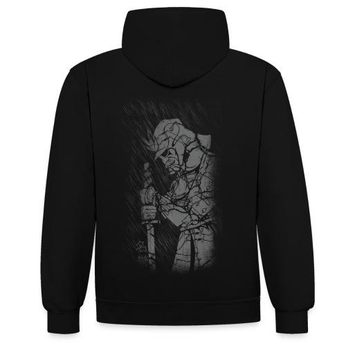 Samurai - Kontrast-Hoodie