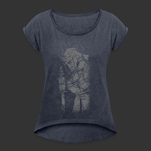 Samurai - Women's T-shirt with rolled up sleeves