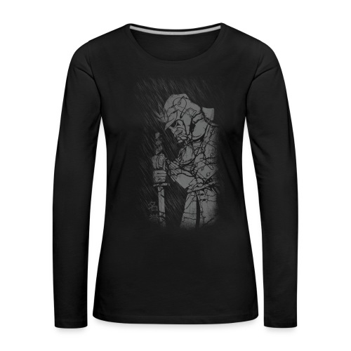 Samurai - Frauen Premium Langarmshirt