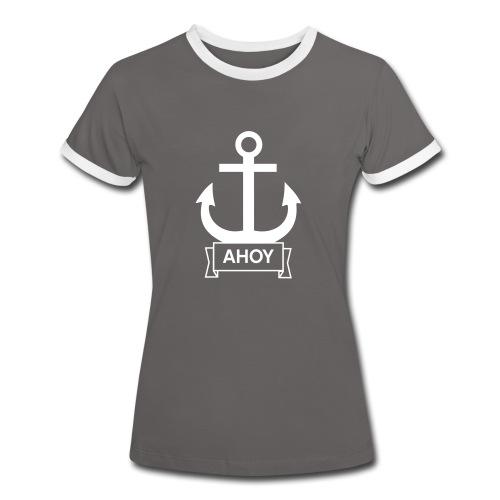 Ahoy Shirt - Frauen Kontrast-T-Shirt