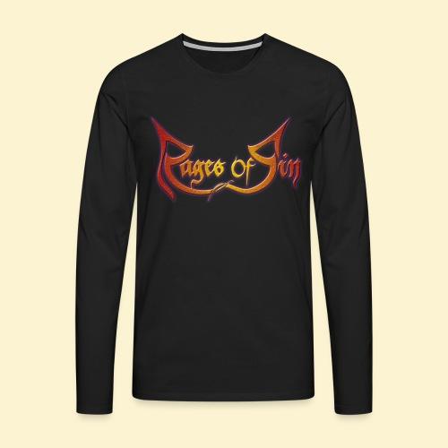 Rages of Sin - The Longsleeve [BACKPRINT] - Mannen Premium shirt met lange mouwen