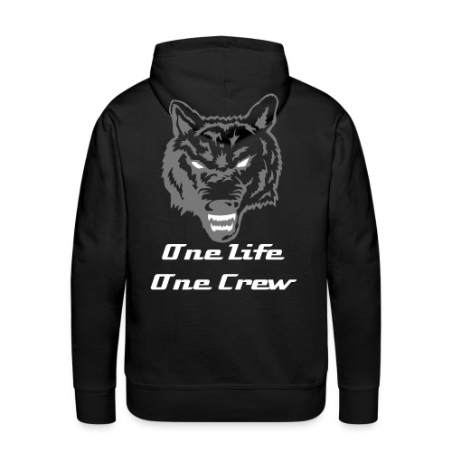 One Life One Crew Pullover - Männer Premium Hoodie