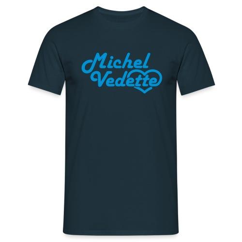 Tee shirt multicolores Michel vedette - T-shirt Homme