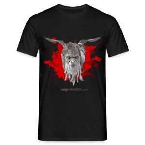 Classic Black Red - Männer T-Shirt
