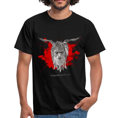 Classic Black Red - Männer T-Shirt