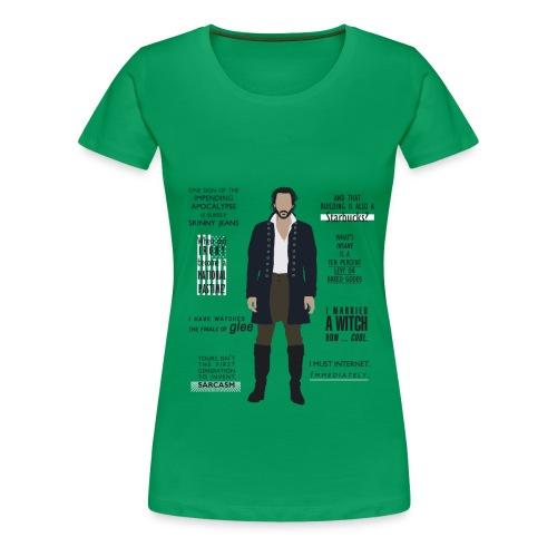 Ichabod Crane Quotes - Women's Premium T-Shirt