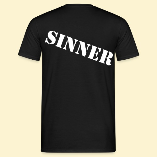 Rages of Sin - The T-Shirt - male [BACKPRINT] - Mannen T-shirt