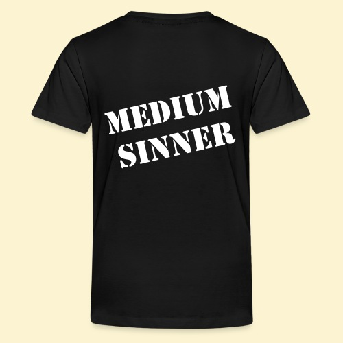 Rages of Sin - The Teen shirt [BACKPRINT] - Teenager Premium T-shirt