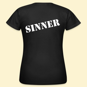 Rages of Sin - The T-shirt - girlie [BACKPRINT] - Vrouwen T-shirt