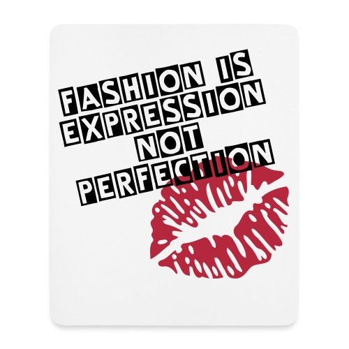 Expression NOT Perfection - Mouse Pad (vertical)