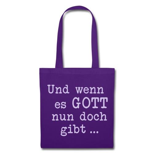 GIBT ES GOTT - Stoffbeutel