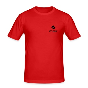 T-Shirt für Männer (slim fit) - Männer Slim Fit T-Shirt