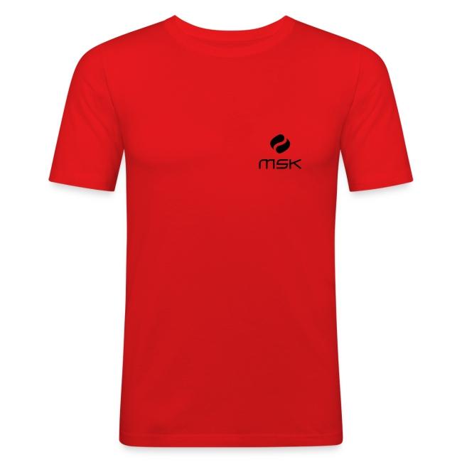 T-Shirt für Männer (slim fit)