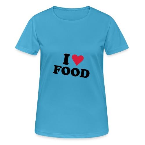 iloveyo - Maglietta da donna traspirante