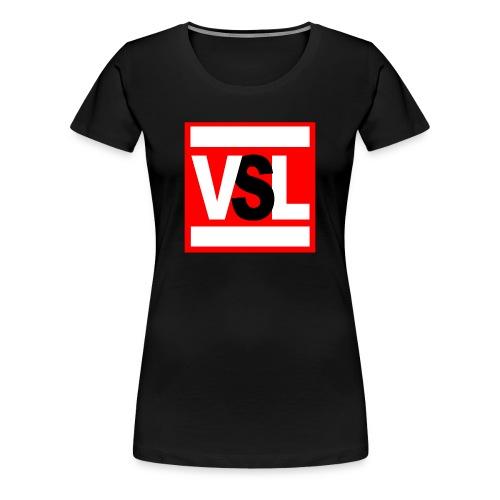 Logo Quadrato Donna - Maglietta Premium da donna