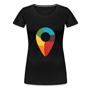 Black Women's Tee Founded X - Women's Premium T-Shirt