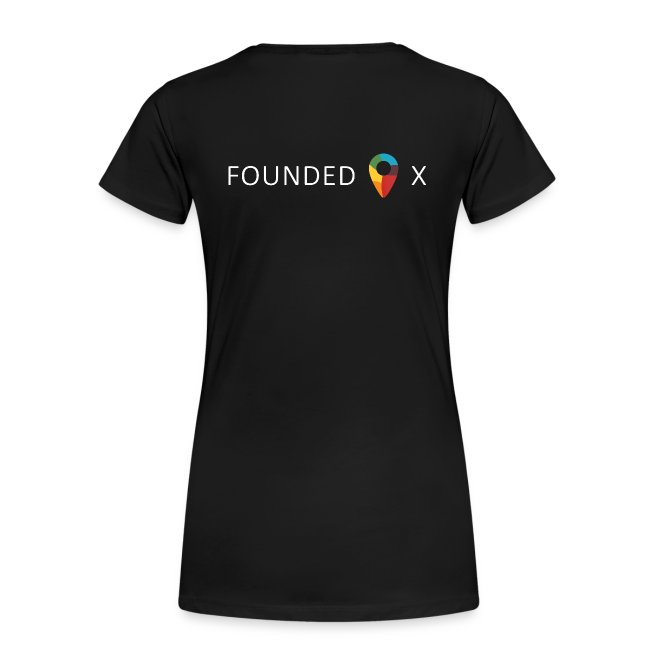 Black Women's Tee Founded X