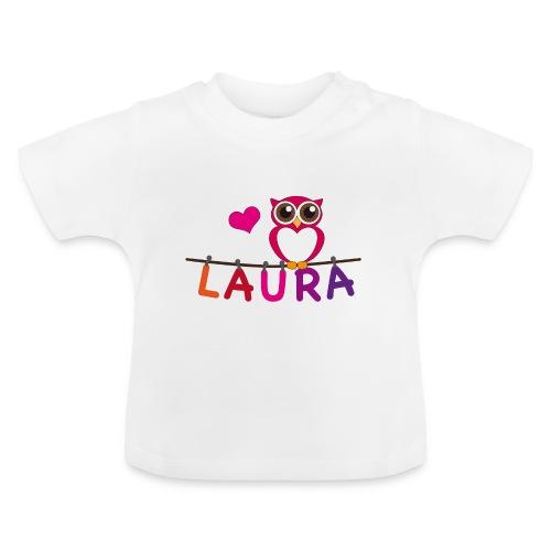 Babyshirt Eule - Laura - Baby T-Shirt