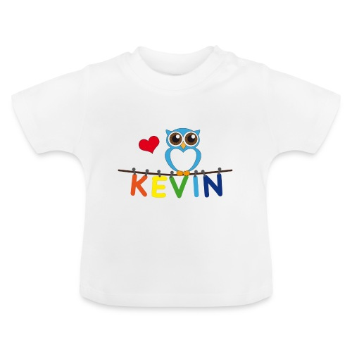 Babyshirt Eule - Kevin - Baby T-Shirt