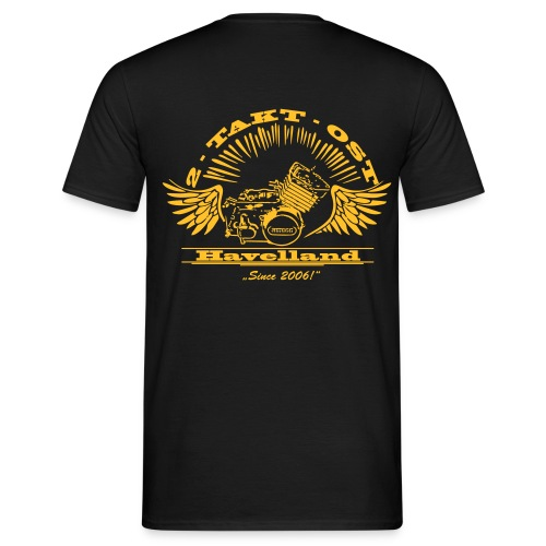 Simsonmotor - Rück - Männer T-Shirt