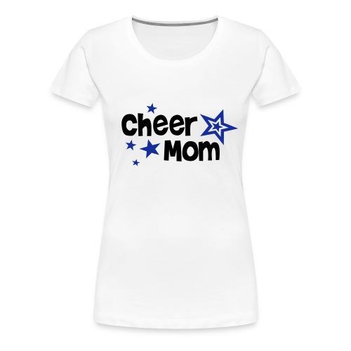 cheer mom - Premium T-skjorte for kvinner