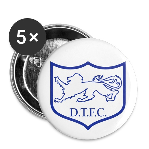 Dunstable Town Retro Button - Buttons small 1''/25 mm (5-pack)