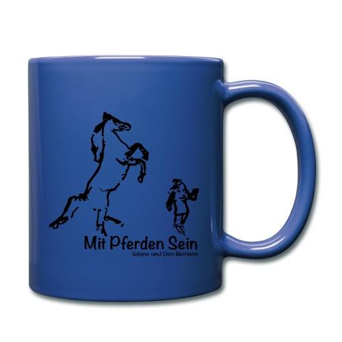 Josie MPS Schriftzug Marsign Mug - Print : Black - Tasse einfarbig