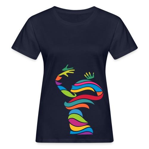 Wellentänzerin-Frauen-Bio-T-Shirt - Frauen Bio-T-Shirt