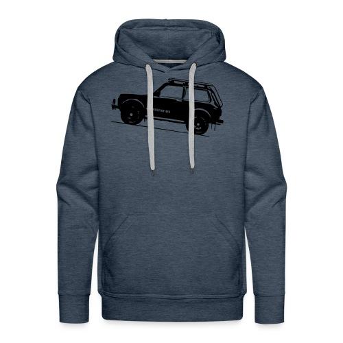 Lada Niva Hoodie II (2121) - Männer Premium Hoodie