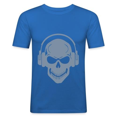 T-Shrit aber immer mit Musik - Männer Slim Fit T-Shirt
