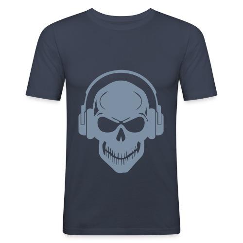 T-Shirt aber immer mit Musik - Männer Slim Fit T-Shirt