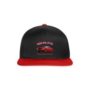Snapback cap | 65 Red Mustang | Classic American Automotive - Snapback Cap