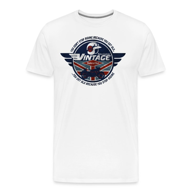 Kabes Vintage Riders Club - Men's Premium T-Shirt