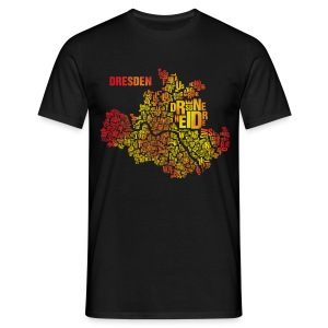 Dresden Shirt Flame - Male - Männer T-Shirt