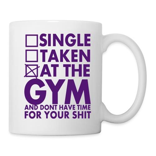 Single - Taken - At the gym (Tasse) - Tasse