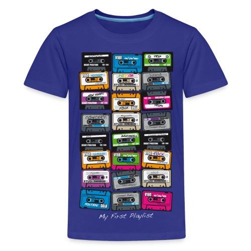 Cassette  - T-shirt Premium Ado